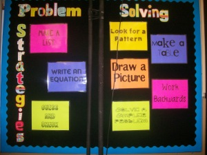 problem solving display