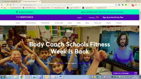 Image result for body coach school fitness week 2018